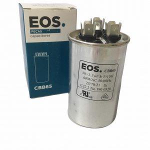 capacitor duplo 30+2.5 440
